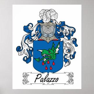 Escudo de la familia de Palazzo Póster