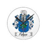 Escudo de la familia de Palazzo Reloj De Pared