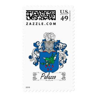 Escudo de la familia de Palazzo Timbre Postal