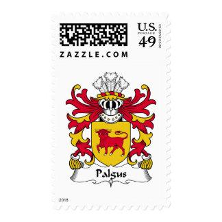 Escudo de la familia de Palgus Timbre Postal