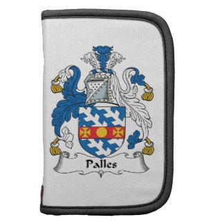 Escudo de la familia de Palles Planificador