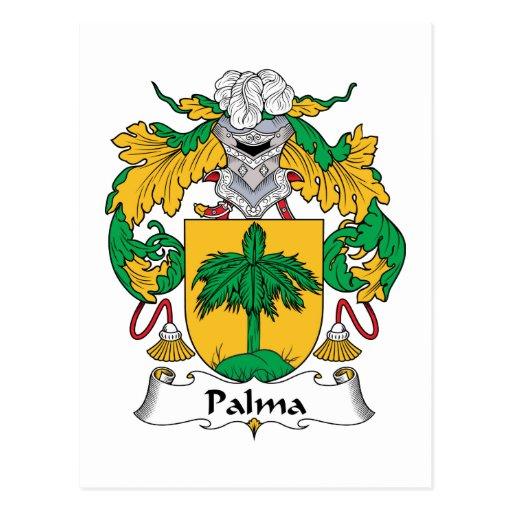 Escudo de la familia de Palma Tarjetas Postales