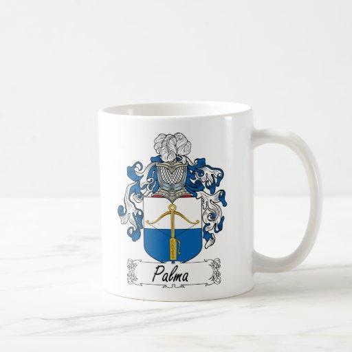 Escudo de la familia de Palma Taza Básica Blanca