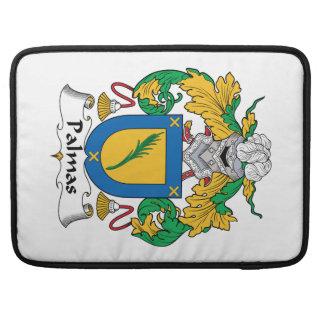 Escudo de la familia de Palmas Funda Para Macbook Pro