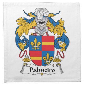 Escudo de la familia de Palmeiro Servilletas