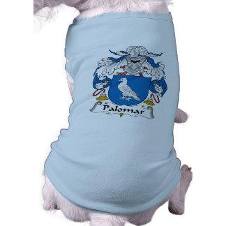 Escudo de la familia de Palomar Playera Sin Mangas Para Perro