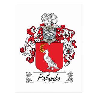 Escudo de la familia de Palumbo Postales