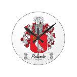 Escudo de la familia de Palumbo Reloj