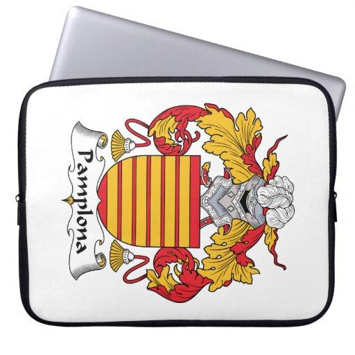 Escudo de la familia de Pamplona Mangas Computadora