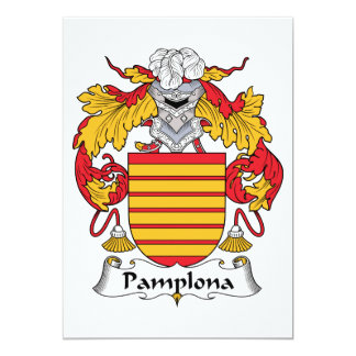 Escudo de la familia de Pamplona Anuncios