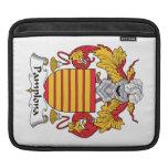 Escudo de la familia de Pamplona Mangas De iPad