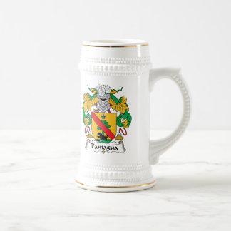 Escudo de la familia de Paniagua Tazas De Café