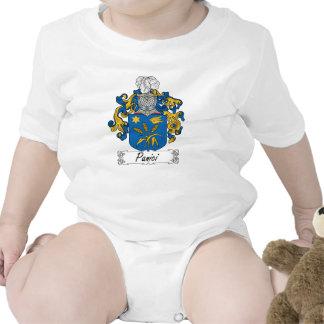 Escudo de la familia de Panici Traje De Bebé