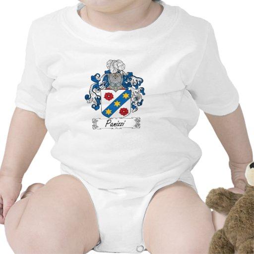 Escudo de la familia de Panizzi Camisetas