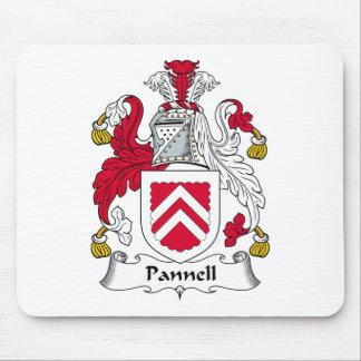 Escudo de la familia de Pannell Mousepads