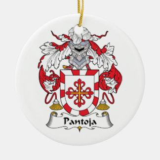 Escudo de la familia de Pantoja Adorno Redondo De Cerámica