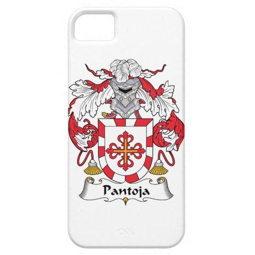 Escudo de la familia de Pantoja Funda Para iPhone 5 Barely There