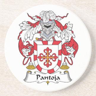 Escudo de la familia de Pantoja Posavasos Cerveza