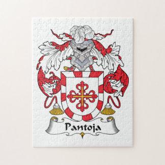 Escudo de la familia de Pantoja Rompecabeza Con Fotos