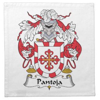 Escudo de la familia de Pantoja Servilletas De Papel