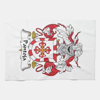 Escudo de la familia de Pantoja Toallas De Mano