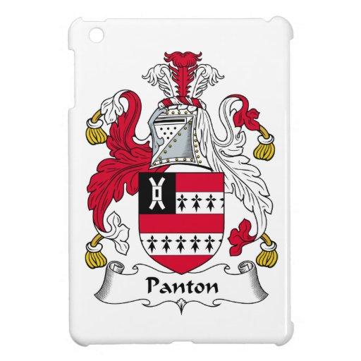 Escudo de la familia de Panton iPad Mini Cárcasa