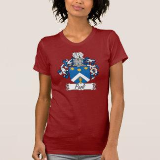 Escudo de la familia de Paoli Camiseta
