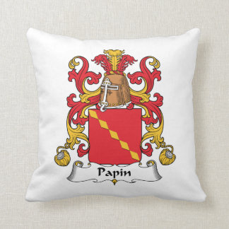 Escudo de la familia de Papin Almohadas