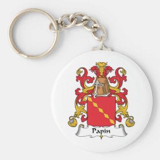 Escudo de la familia de Papin Llavero