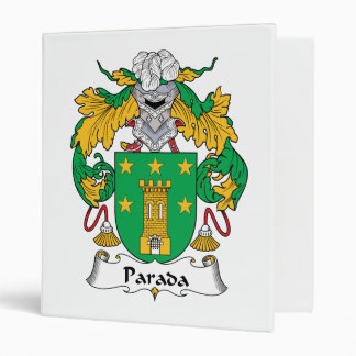 Escudo de la familia de Parada