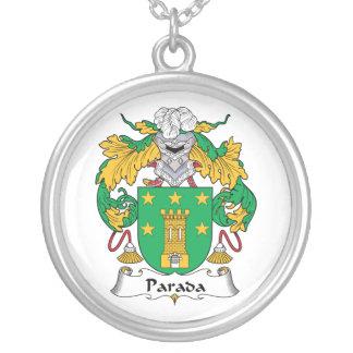 Escudo de la familia de Parada Joyerias