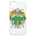 Escudo de la familia de Parada iPhone 5 Case-Mate Carcasas
