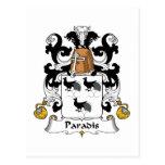 Escudo de la familia de Paradis Postales