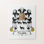 Escudo de la familia de Paradis Rompecabeza Con Fotos