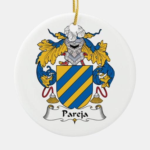 Escudo de la familia de Pareja Ornatos