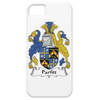 Escudo de la familia de Parfitt iPhone 5 Case-Mate Cárcasas
