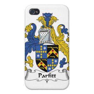 Escudo de la familia de Parfitt iPhone 4 Carcasa