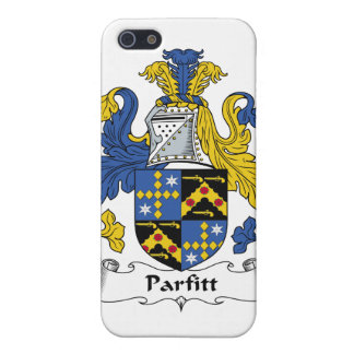Escudo de la familia de Parfitt iPhone 5 Cárcasas