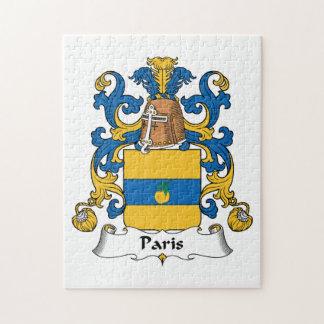 Escudo de la familia de París Rompecabezas