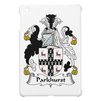 Escudo de la familia de Parkhurst iPad Mini Cárcasas