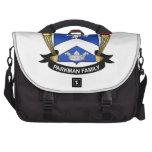 Escudo de la familia de Parkman Bolsa Para Ordenador