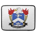 Escudo de la familia de Parkman Funda Macbook Pro