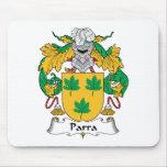 Escudo de la familia de Parra Alfombrilla De Ratones