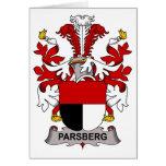 Escudo de la familia de Parsberg Tarjetas