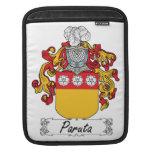 Escudo de la familia de Paruta Fundas Para iPads
