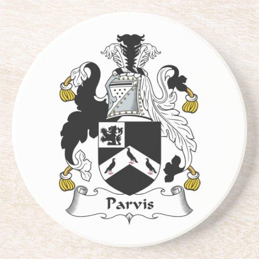 Escudo de la familia de Parvis Posavasos Personalizados
