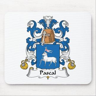 Escudo de la familia de Pascal Tapete De Ratón