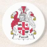 Escudo de la familia de Pascall Posavasos Diseño