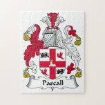 Escudo de la familia de Pascall Rompecabeza