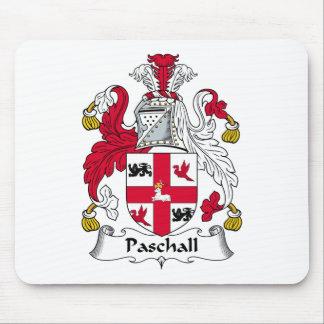 Escudo de la familia de Paschall Mouse Pad